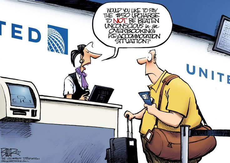 Officially...Archangel641's Blog: Another United Airlines Cartoon...