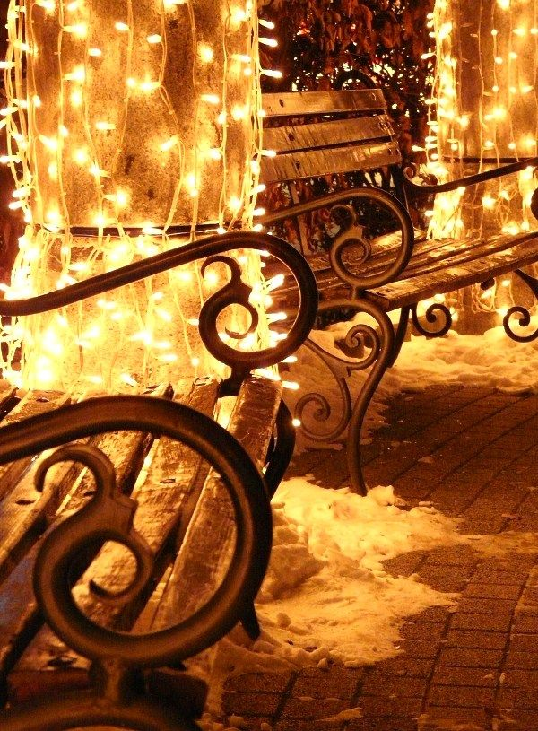 Christmas Lights, Debrecen, Hungary