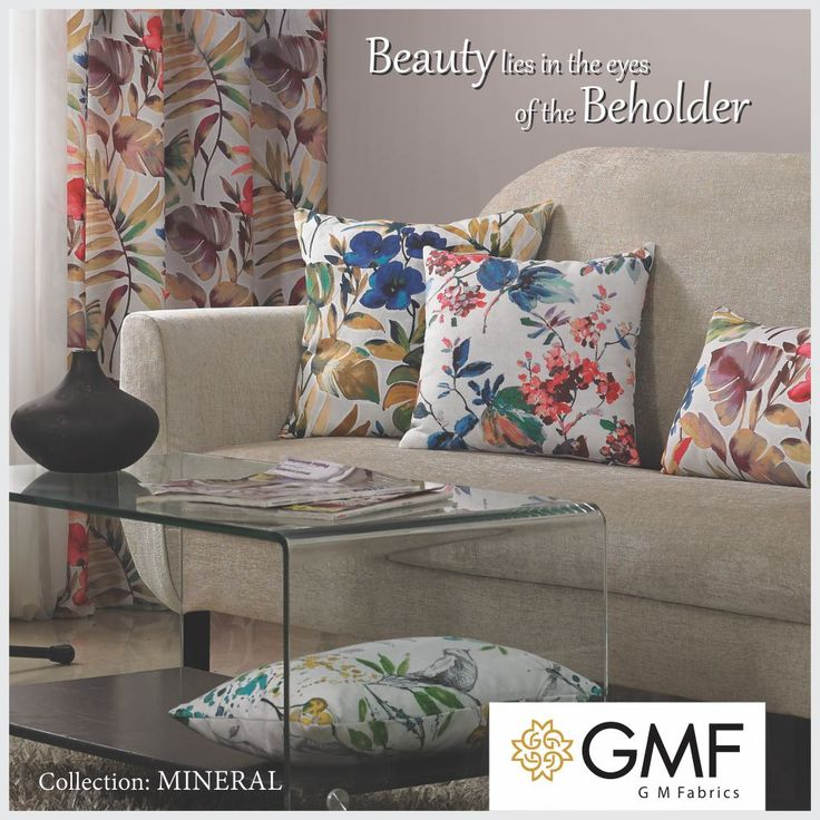 Give your #Home an #Exquisite look with our new collection #OnlyWithGMF!! Explore more on www.gmfabrics.com #HomeDecor #HomeFabrics #Cushions #Upholstery #Furnishings #Interiors #GMF