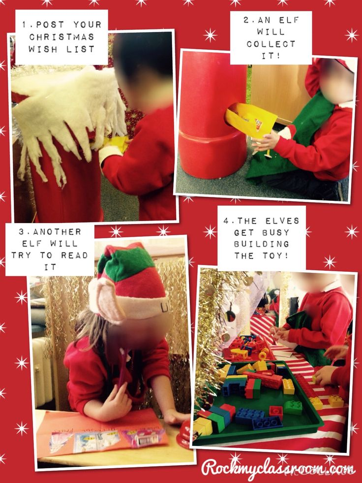 Santa's workshop processes