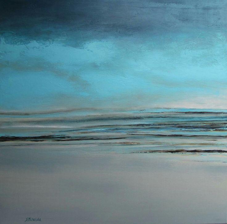 Pejzaż morski, pejzaż, obrazy olejne Sylwia Michalska