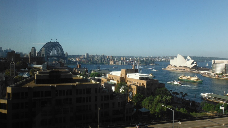 Sydney, Australia Four Seasons Hotel with a view! #fourseasons #ourviewfromhotel
