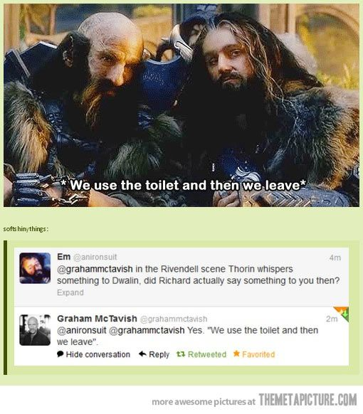 Best LOTRThe Hobbit Images On Pinterest Funny Things - Sad production hobbit reveals something never imagine