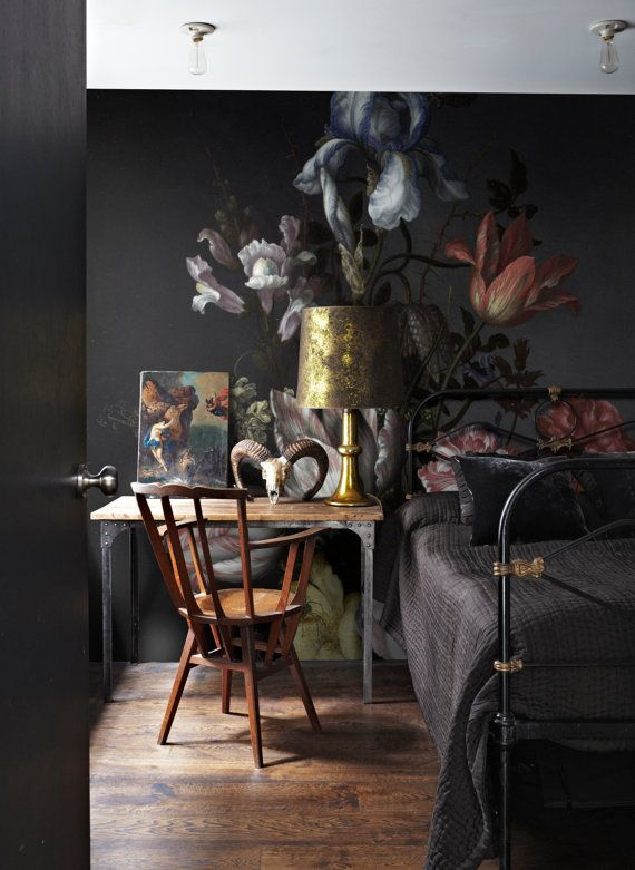 23 Best The Dark Side Of Florals Images On Pinterest