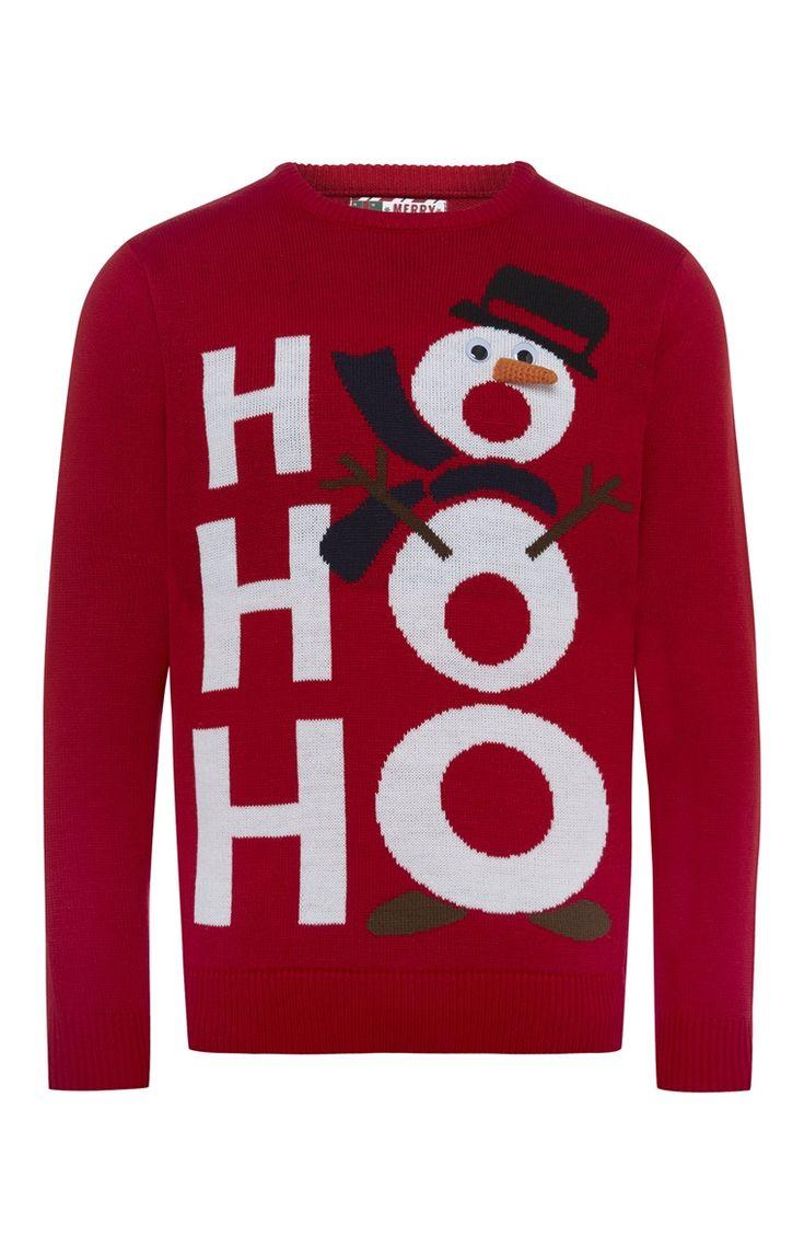 Primark - Musical Ho Ho Ho Christmas Jumper