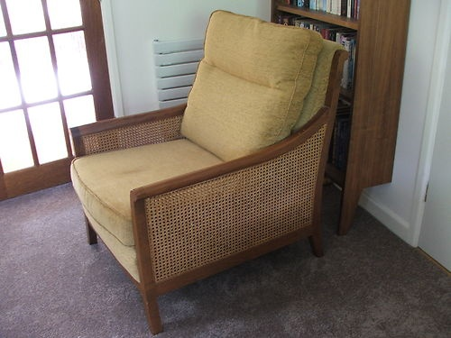 Parker Knoll Easy Chair Armchair Colonial Style In