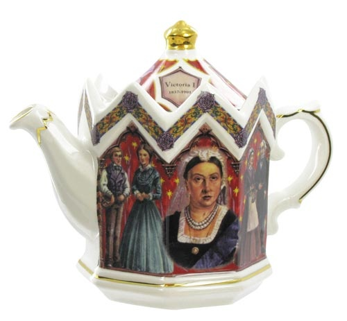 James Sadler Teapots - Queen Victoria