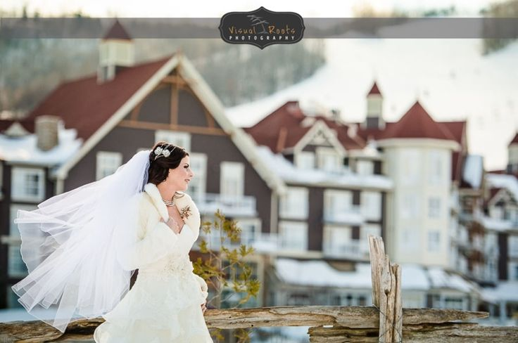 Blue Mountain, Collingwood winter wedding