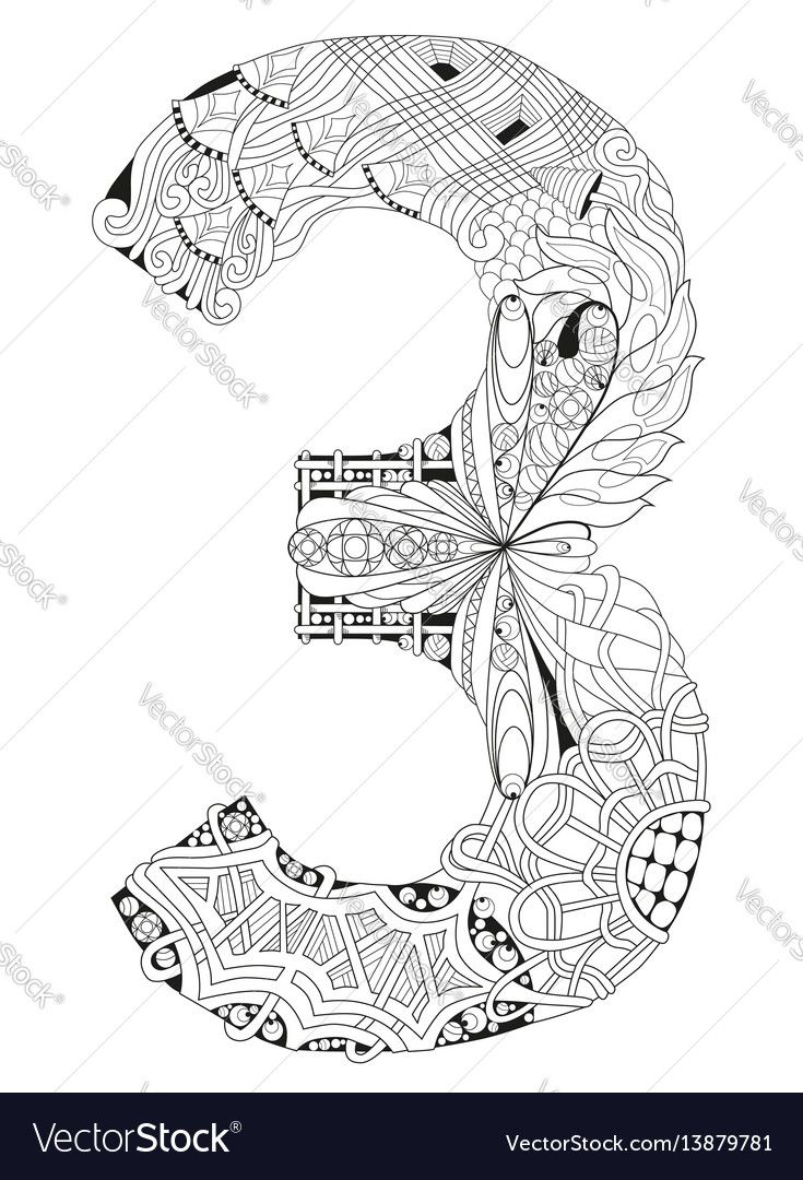 Adult Anti Stress Coloring Page Black And White