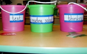 """""""Reading Salad""""- my reading specialist did this lesson with my class to teach metacognition.  Great idea!"""