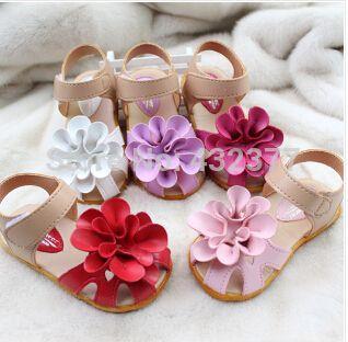 Женское дети сандалии богема принцесса сандалии цветок палец на ноге лето обувь для девочки игрушки-мать обувь младенцы тапочки