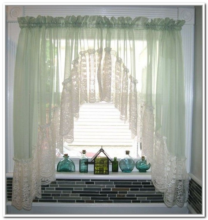 Sheer Bathroom Window Curtains. 8 best Lace Curtain Panels for Budget Home Renovations images on