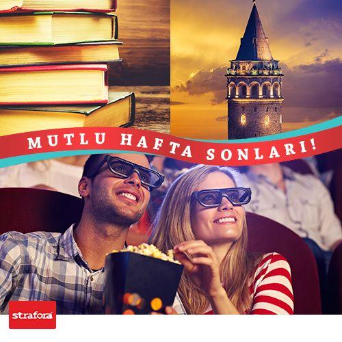 Hafta sonuna merhaba!   #Cuma #Tatil #HaftaSonu #Strafor #Reklamcılık #Tasarım