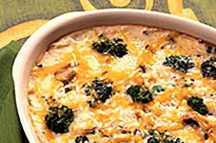 Gratin au riz et brocoli KRAFT
