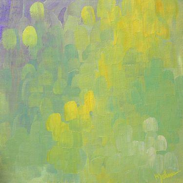 "Saatchi Art Artist Kim Johnson; Painting, ""Dandelions and Lavender"" #art"