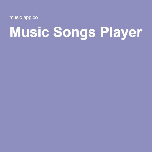 Music Songs Player