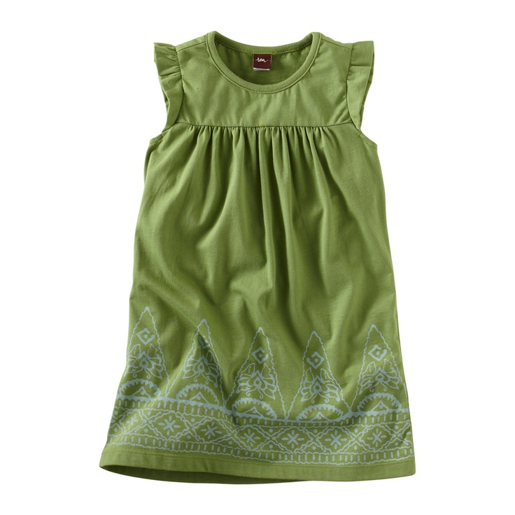 Jaya is Sanskrit for victor and Jaya Peak is the tallest mountain in Indonesia. The spiky peaks that create the border print of this knit playdress have little butterflies hidden inside. They're mini and mighty just like you. Imported.Summer Dresses, Teas Collection, Jaya Peaks, Baby Girls, Baby Dresses, Baby Clothing, Peaks Playdress, Kids Clothing, Flower Girls
