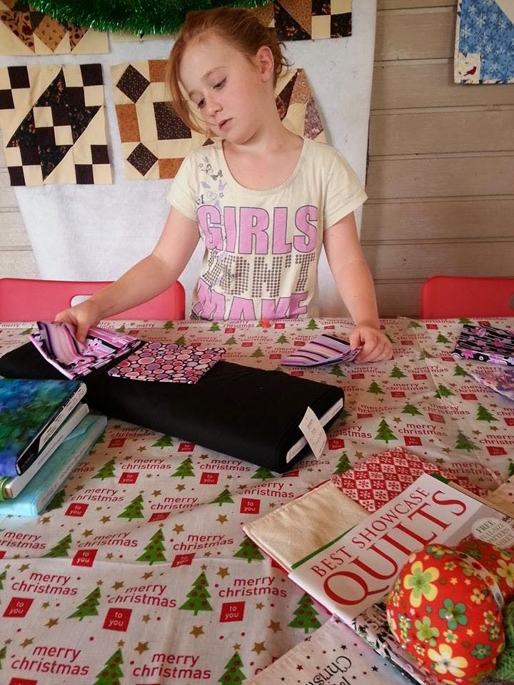 Darvanalee Designs Long Arm Quilting and More: Summer Break Miss S's Story Part 2