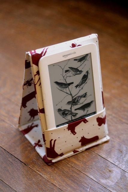 Sewn Kindle case…gift idea for Mom