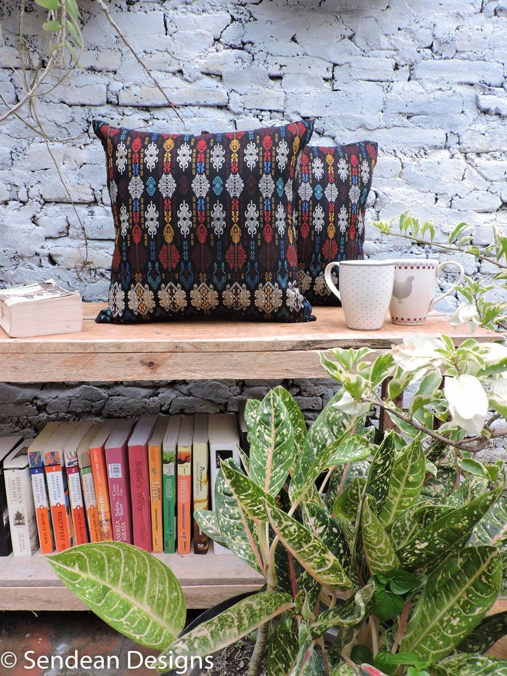 Never bored with black cushion made of printing batik kain (product code: RAF3). Like our facebook fanpage Sendean Designs or follow us at instagram @sendeandesigns.