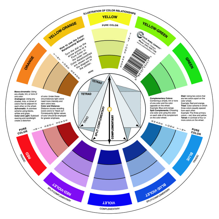 Colour Mood Chart 21 best color images on pinterest | color theory, colour wheel and
