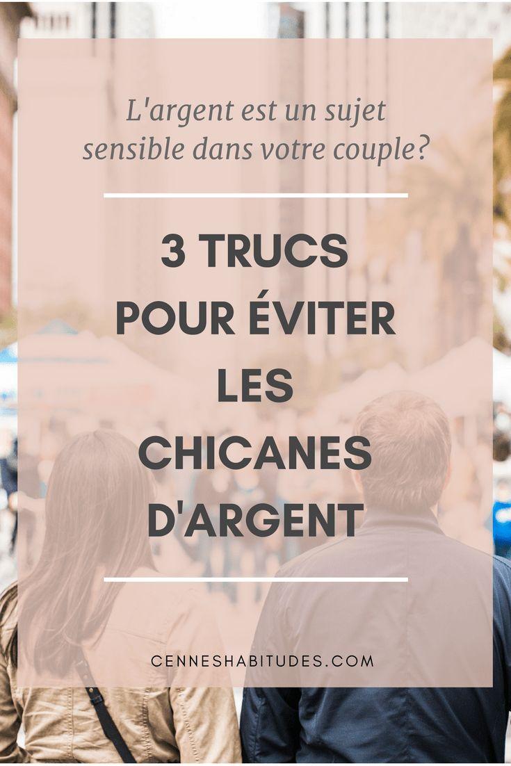 Éviter les chicanes d'argent dans votre couple: 3 conseils pour le couple que tout le monde envie ;)