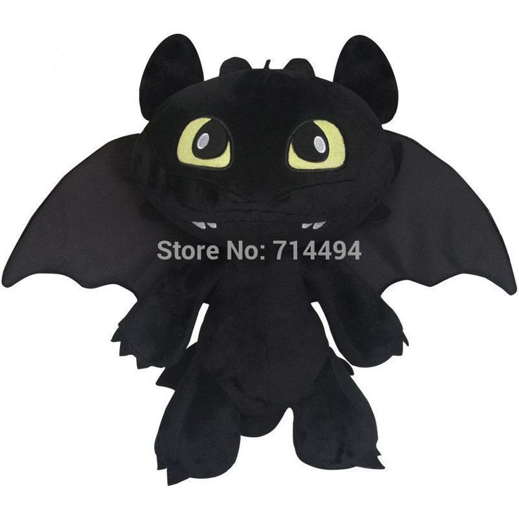 30cm 2014 Hot Toys How To Train Your Dragon 2 Plush Toy Toothless Dragon Stuffed Animal Dolls Movie Toys For Children