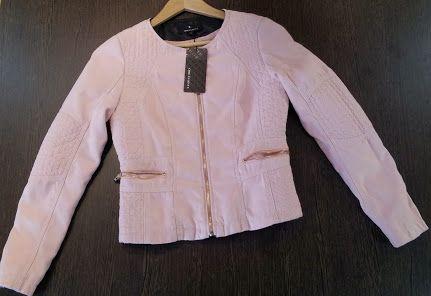 jaqueta pell rosa pàlid #CHICETJEUNE