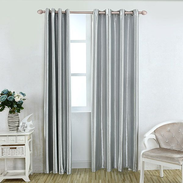 Grommet Thermal Insulated Window Blackout Curtain WindowTreatmentValances