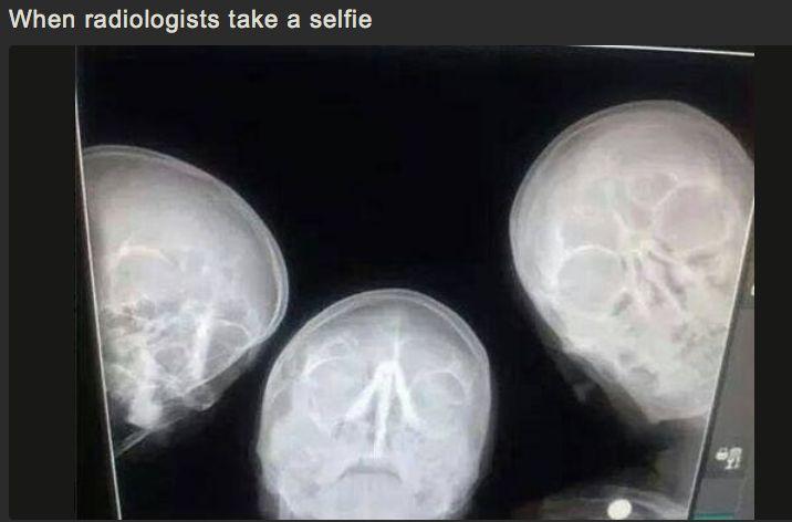 Radiologists take a 'Selfie'