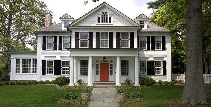 Casa americana pesquisa google casas pinterest - Casas americanas planos ...