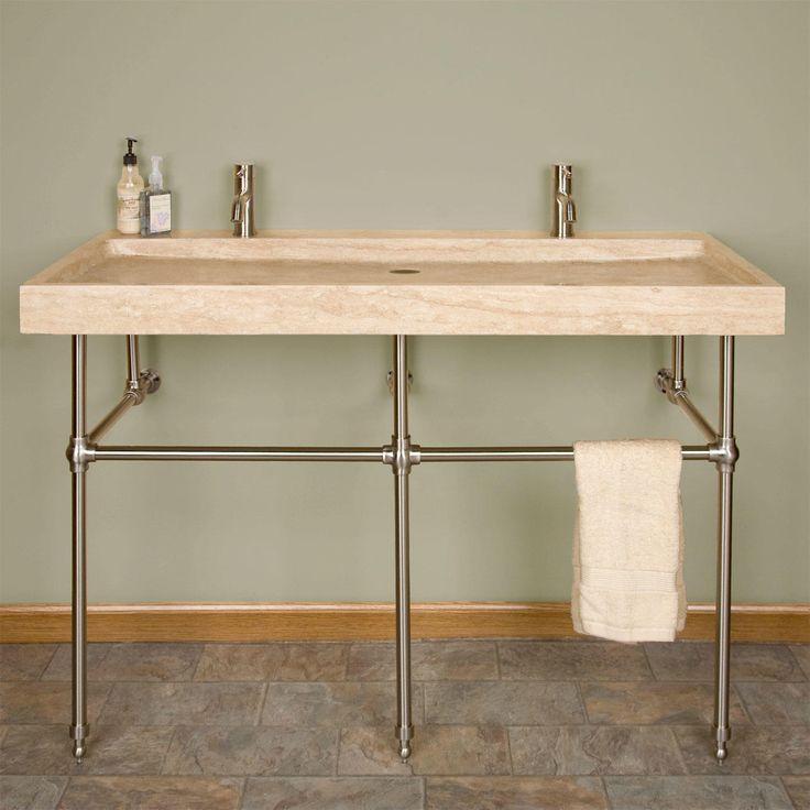 Mason Porcelain Console Sink Oil Rubbed Bronze