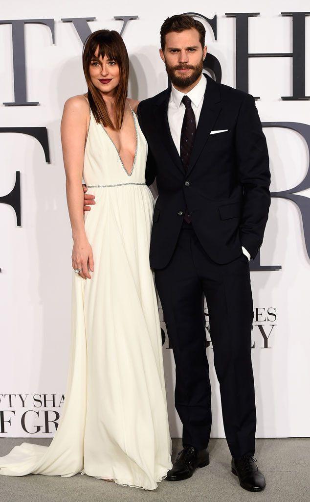 Dakota Johnson and Jamie Dornan coordinate and look amazing!