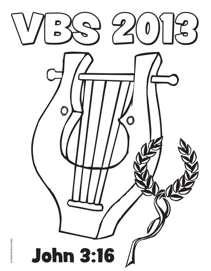 Free Athens VBS 2013 Coloring Sheet From Guildcraft Arts Crafts VBS2013