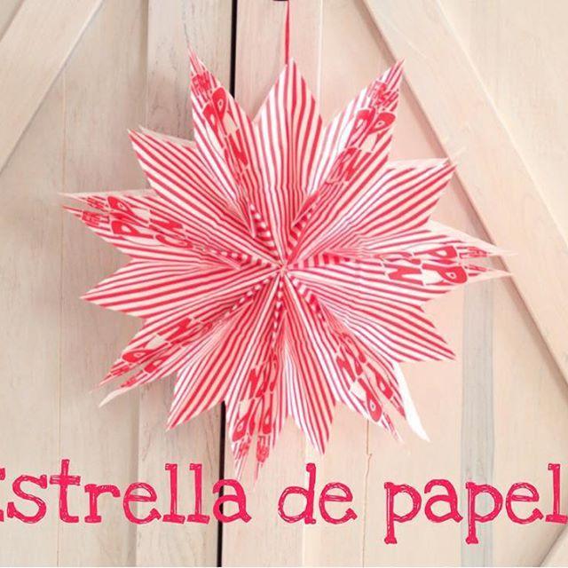Como hacer estrellas de papel - Estrellas de papel ...