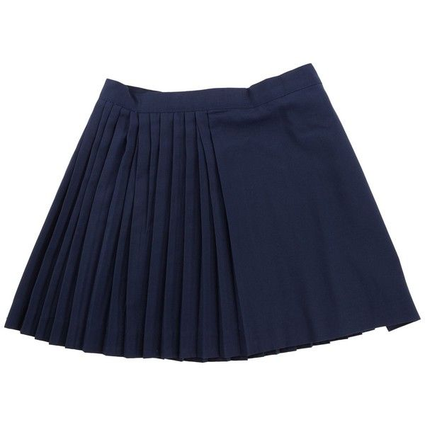Netball Skirt ❤ liked on Polyvore featuring skirts, bottoms, sports skirts, sport skirt and blue skirt