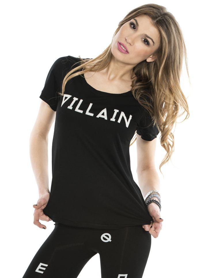VILLAIN TEE  #villain #black #tshirt #tee #quality #edgy