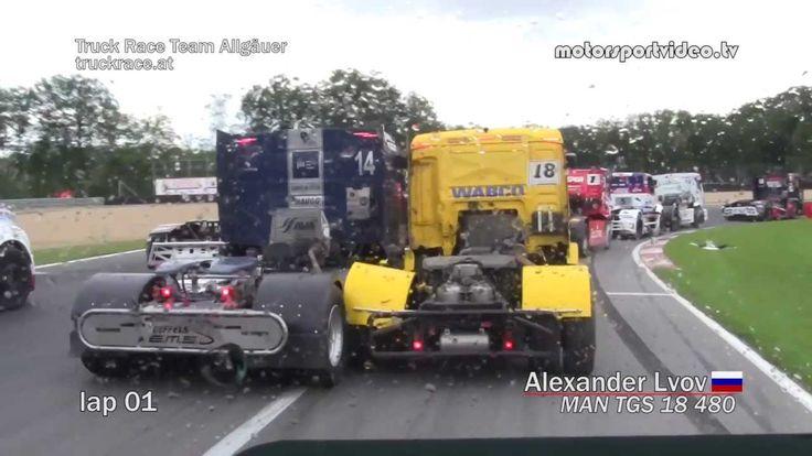 Truck Race Circuit Zolder - race 4 Inboard mit Alexander Lvov