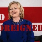 Hillary Clinton Campaigns Goes Nativist, Bans Pool Reporter from Foreign News Outlet