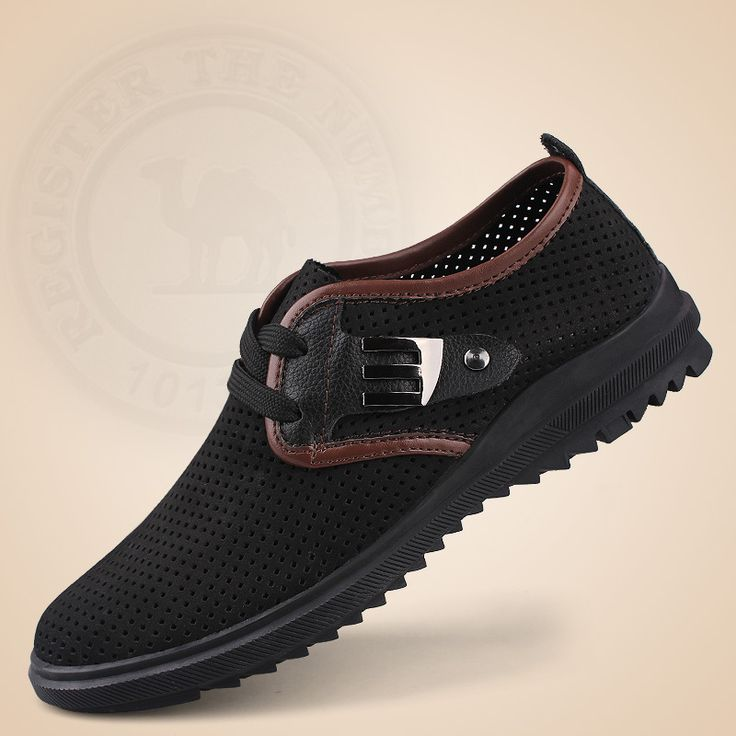 mens fashion leather loafers driving shoes