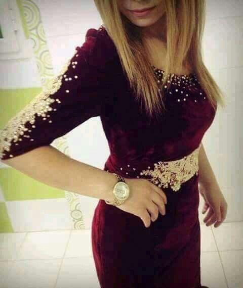 Belle robe algérienne Beautiful algérian dress Fashion style  فستان سهرة Karakou caftan