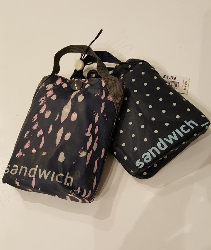 Forget #plasticbags pick up a little shopping bag £1.99 #Sandwich @ExivBoutique.  Perfect to keep in your bag.