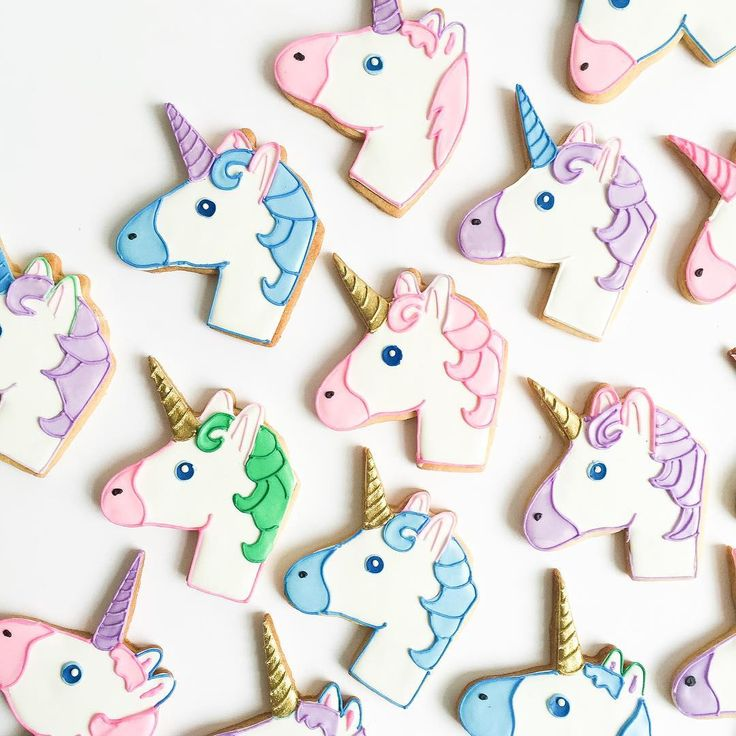 Unicorn Cookies✨
