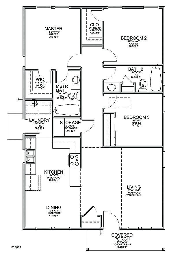 Affordable 4 Bedroom House Plans 2021 Small House Floor Plans House Layout Plans My House Plans