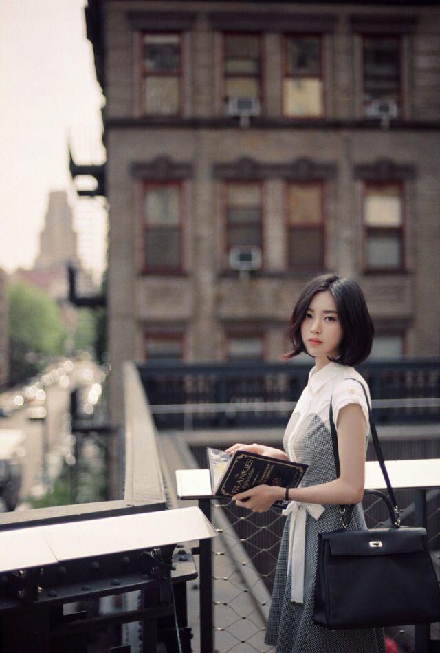 beautiful korean model Yoon sun young