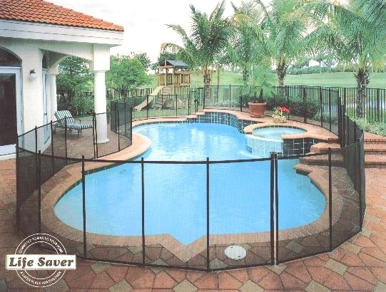 removable mesh pool fence phoenix no drilling parts
