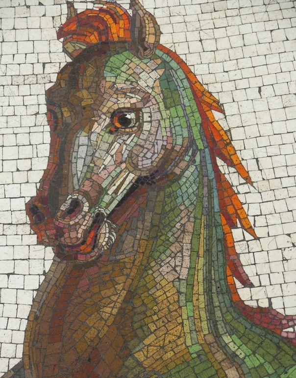 51 Best Mosaic Horses Images On Pinterest Mosaic Animals