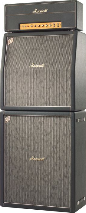 Marshall Amplifier - Blue Cheer and Jimi Hendrix used 3 of these stacks