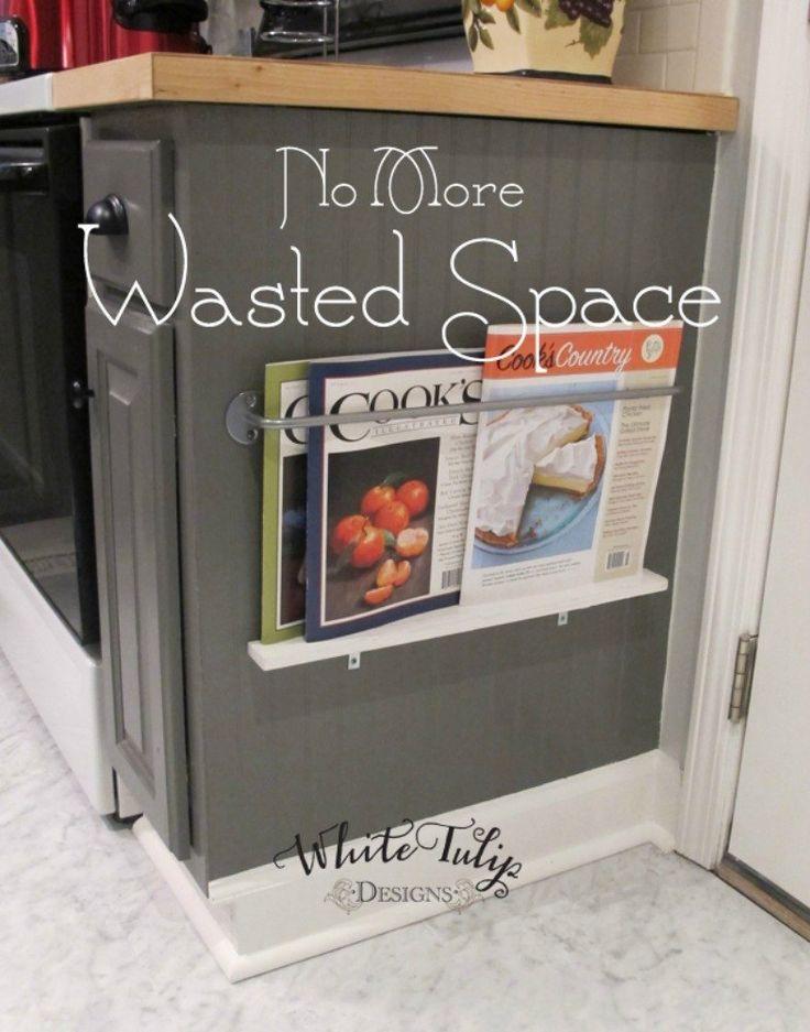 best 20 cookbook storage ideas on pinterest cookbook display cookbook shelf and kitchen spice rack design - Kitchen Counter Storage Ideas