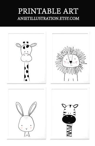 Les enfants noirs et blancs jouent. Version imprimée pour la maternelle. #czarn…